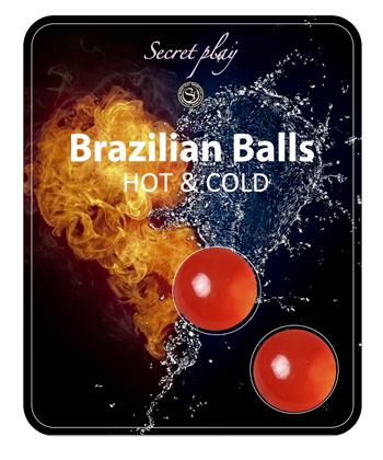 Brazilian Balls Effet chaud froid