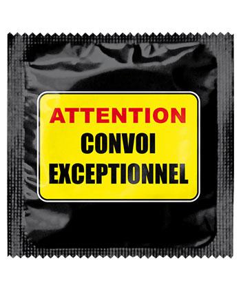 Callvin Attention Convoi Exceptionnel bei Condozone.de - Kondomshop