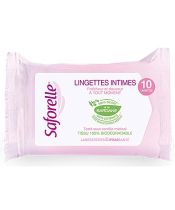 Saforelle Intimate Wipes ultra Gentle bei Condozone.de - Kondomshop