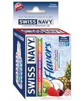 Swiss Navy Flavors