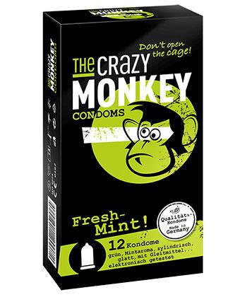 The Crazy Monkey Frische Minze bei Condozone.de - Kondomshop
